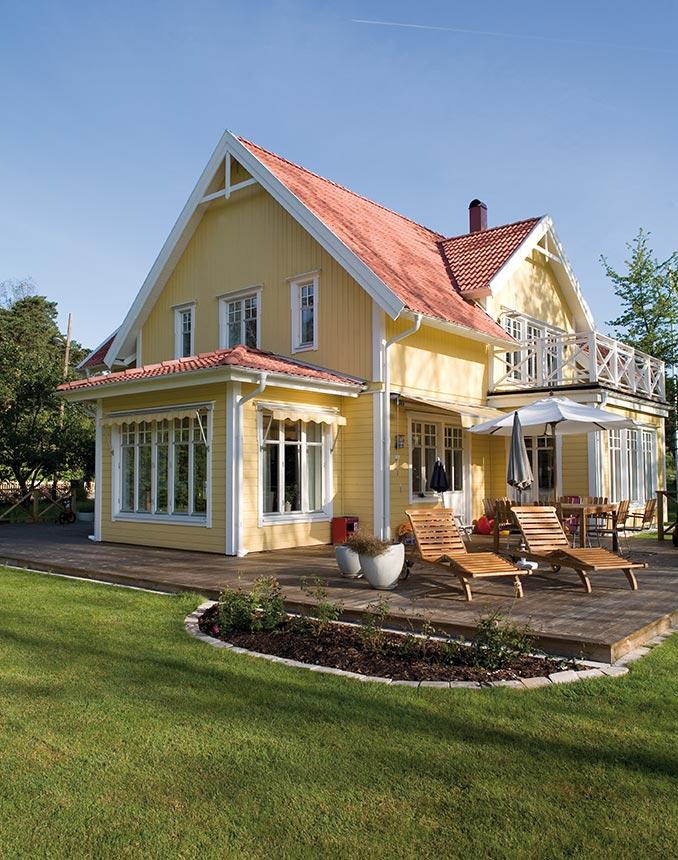 Verrassend Maak van je huis een Zweeds geel thuis! – Norway Coatings OK-45