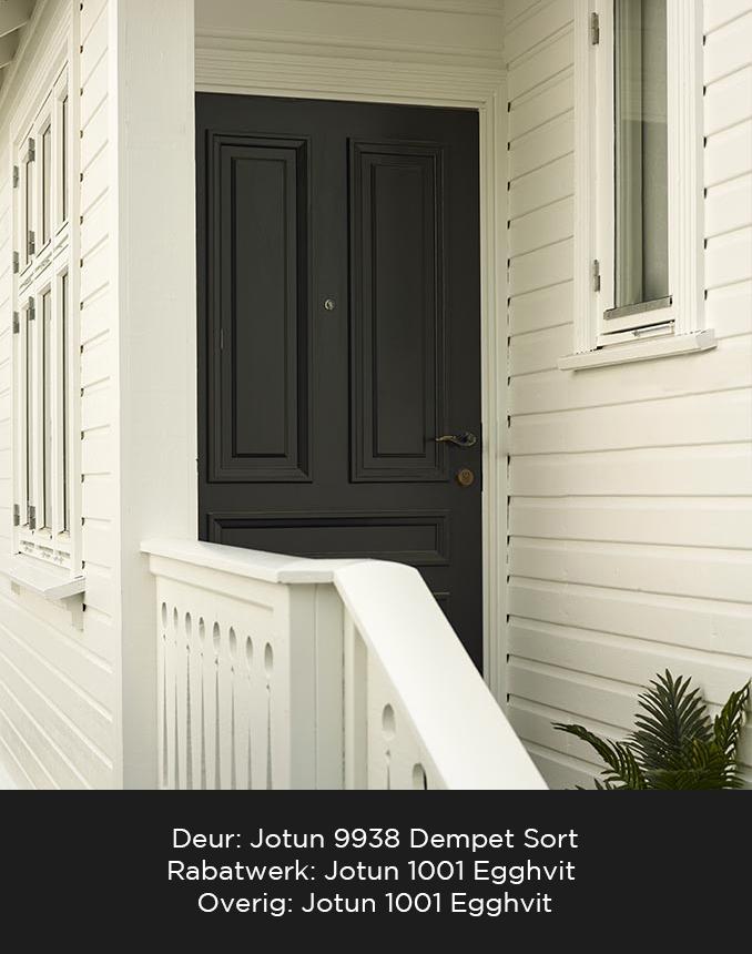 Moderne Jotun 9938 Dempet Sort: Populair, modern en tijdloos – Norway Coatings KL-22