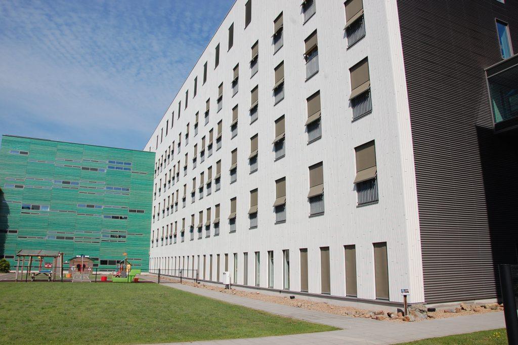 gevelbetimmeringen Bernhoven ziekenhuis Uden